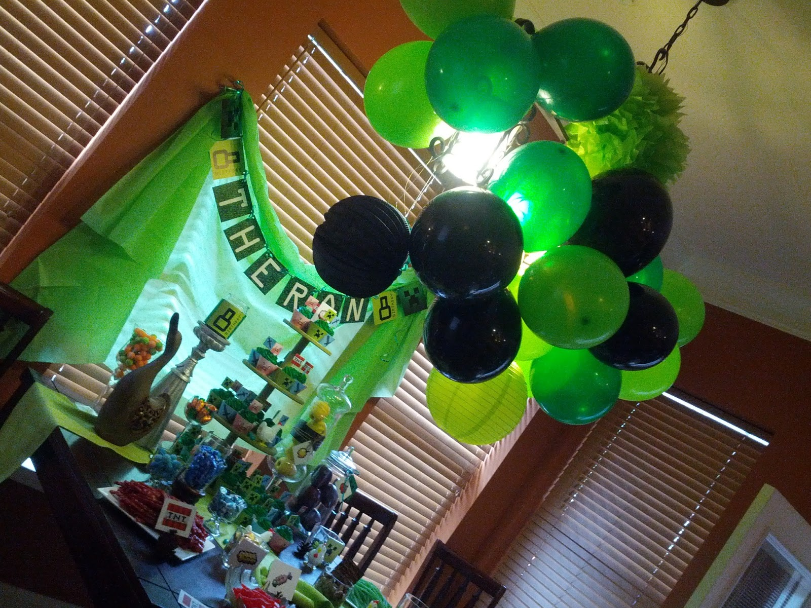 Minecraft Birthday Party Ideas and Invitations Minecraft