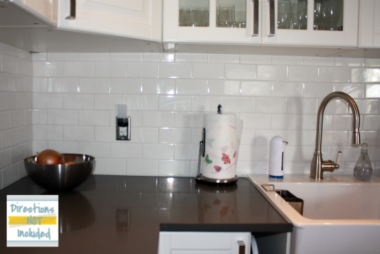 backsplash reveal diy subway tile backsplash directions not