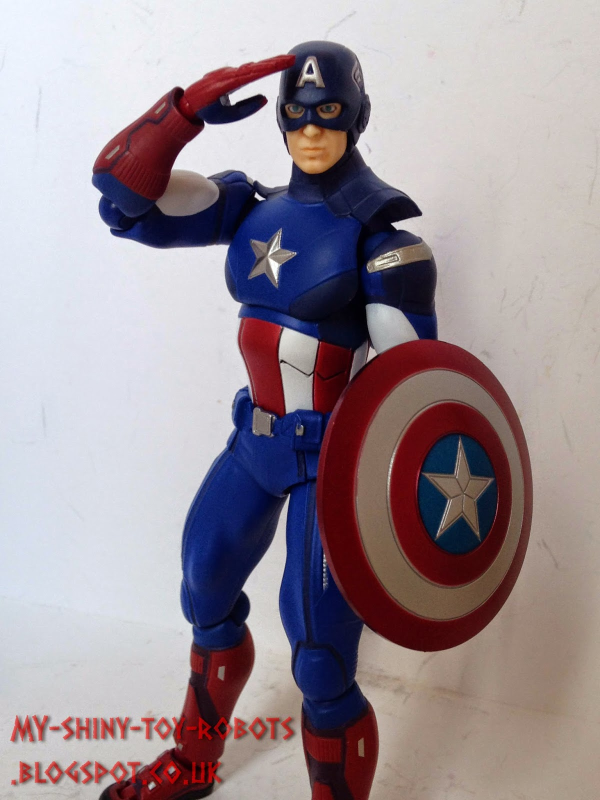Captain America out of the box