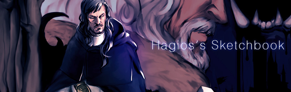 Hagios's Sketchbook