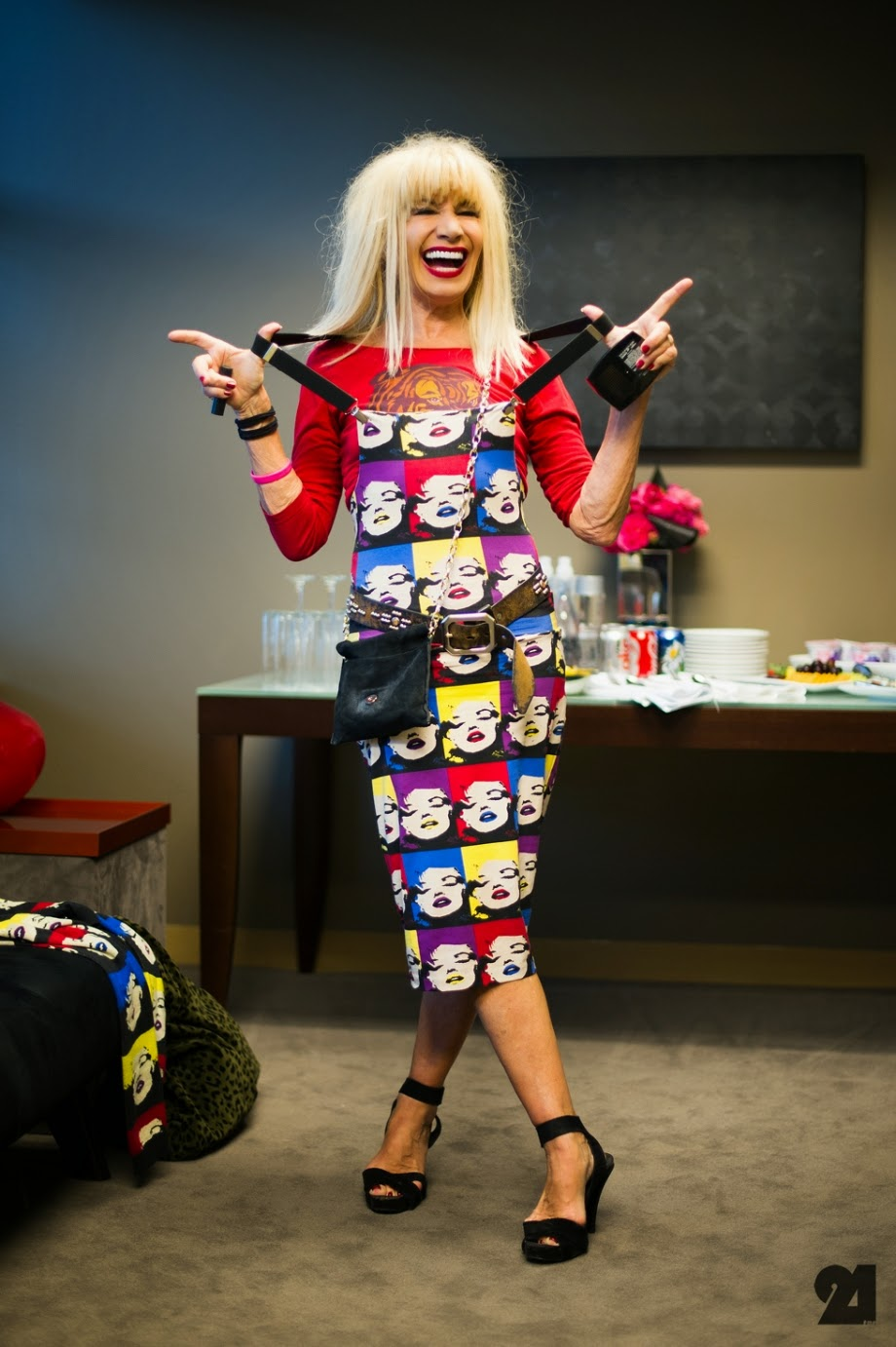 andy worhol, betsey johnson, fashion, style icon,
