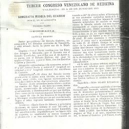 GEOGRAFÍA MÉDICA DEL GUÁRICO.HÉCTOR LANDAETA PAYARES.