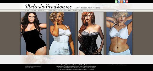 mixed media art website, mixed media artist website, build your own website, beauty art website