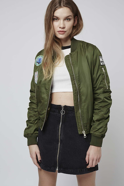 khaki bomber jacket, badged bomber jacket, Ma1 bomber green,