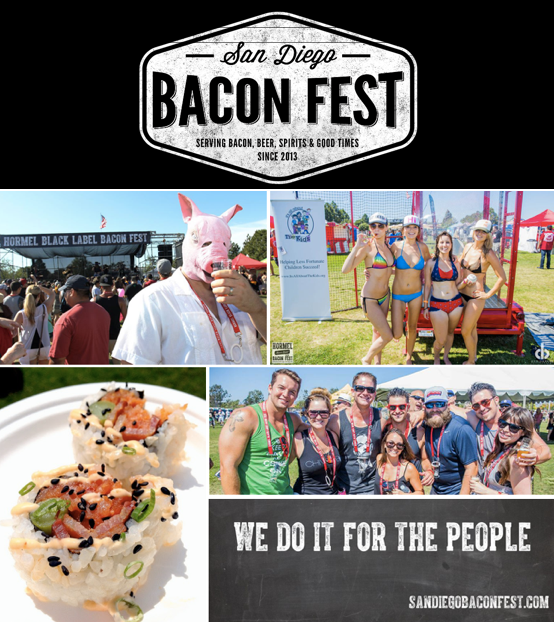 Save on passes & Enter to win VIP tickets to San Diego Bacon Fest - September 2!
