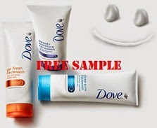 Get FREE Dove Face Wash Sample @ Dove
