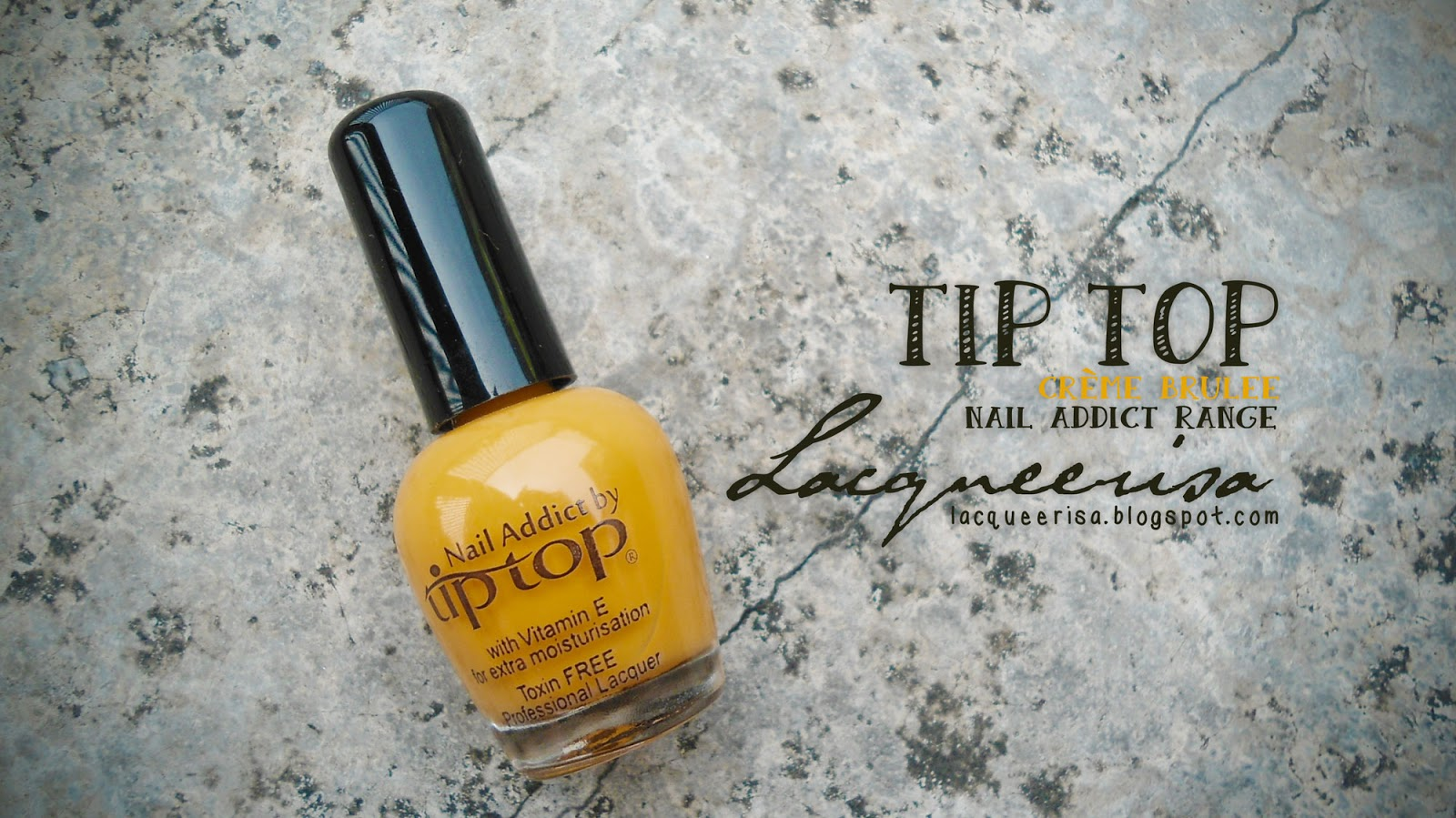 Lacqueerisa: Tip Top Nail Addict, Créme Brulee