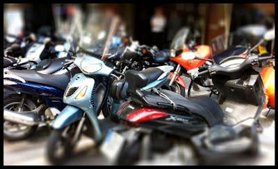Motos en Barcelona