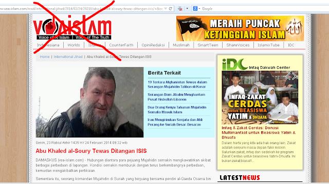 Cemarkan Nama Gus Dur, Situs Wahabi voa-islam Dilaporkan ke Bareskrim dan Tak Bisa diakses