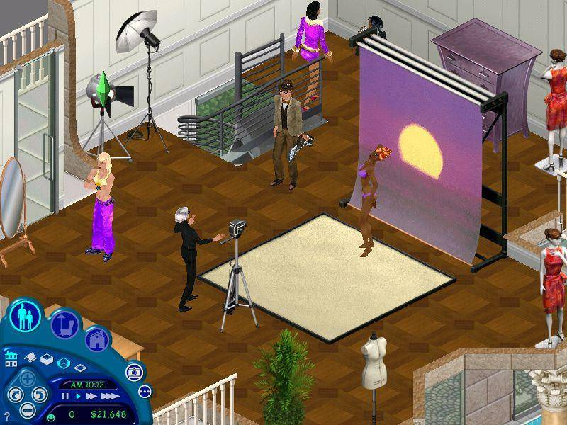 The Sims Kiss