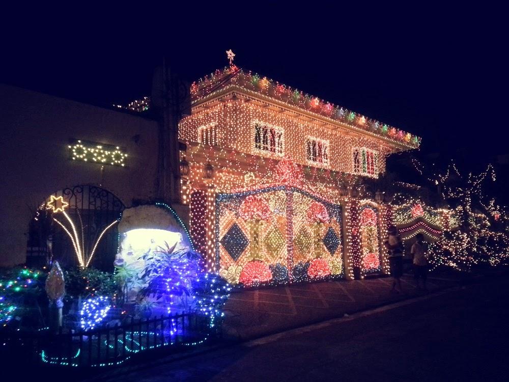 Christmas Lights Up at Policarpio Street, Mandaluyong City, PH