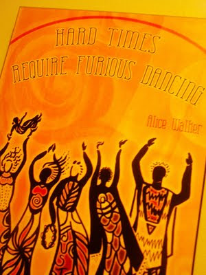 Hard Times Require Furious Dancing, poster, Maya Angelou, Shiloh McCloud artist