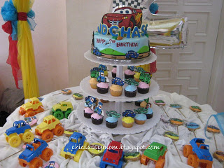 disney cars lightning mcqueen 2nd birthday party