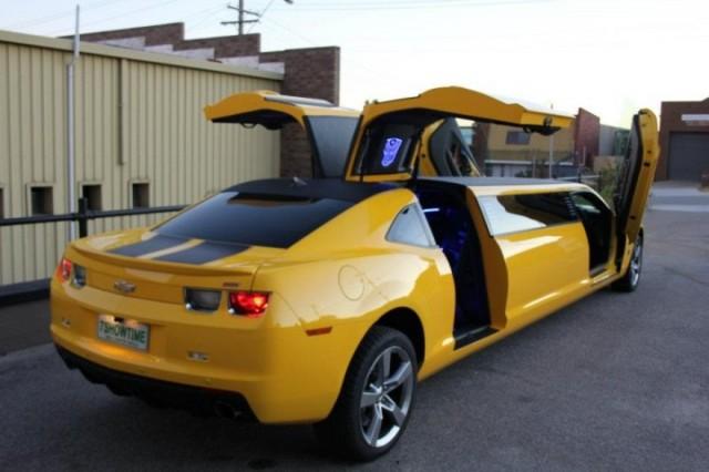 Camaro Transformers limusine
