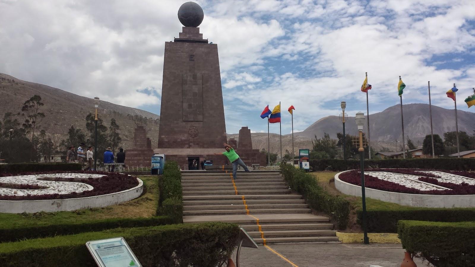 Ecuador: Parque Mitad del Mundo, Hemisferio Norte y Sur