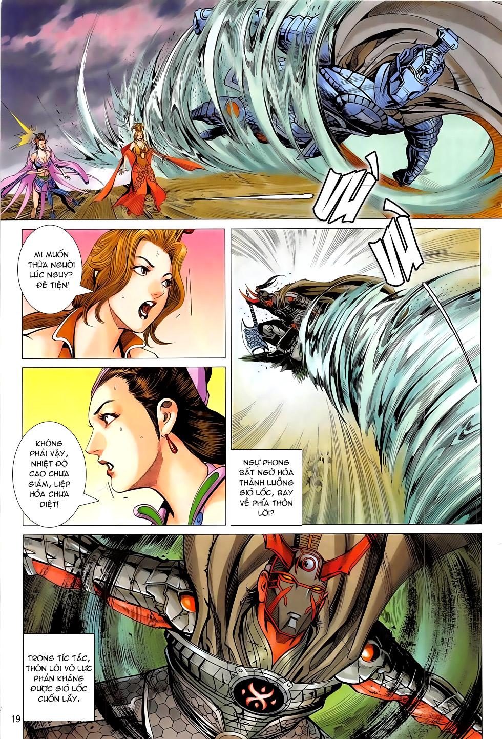 Chiến Phổ chap 19 - Trang 19
