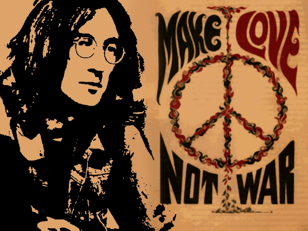 John Lennon Make Love Not War