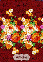 Jual Selimut Rosanna Vito Soft Blanket Amelia