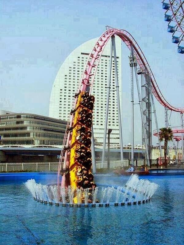 roller coaster, japan