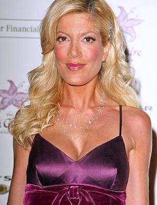 Tori Spelling actriz de cine