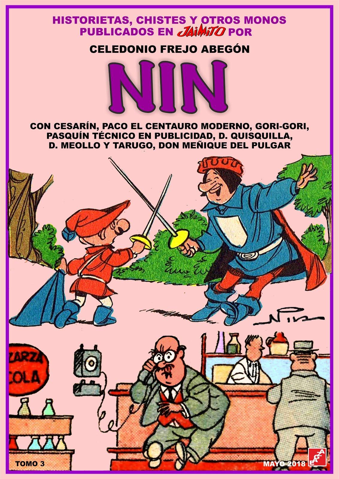 NIN - 3 Tomos - EAGZA