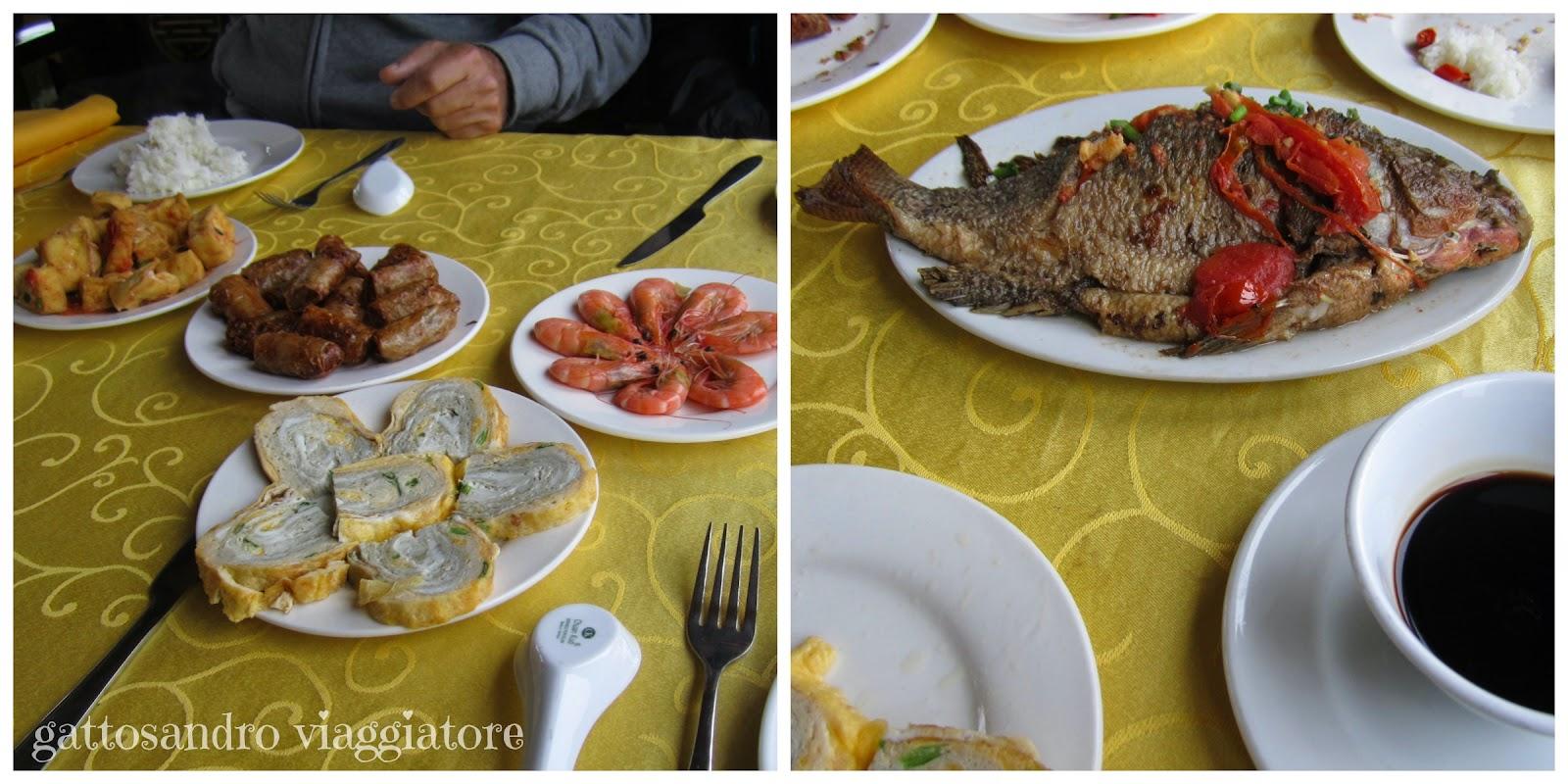 Pranzo sulla barca - Halong Bay