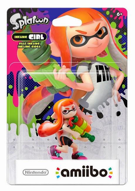 JUGUETES - NINTENDO Amiibo - Figura Inkling : Girl - Chica   (29 Mayo 2015) | Videojuegos | Muñeco | Splatoon Collection  Plataforma: Wii U & Nintendo 3DS | A partir de 6 años