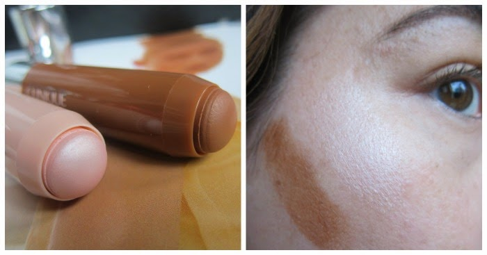Swatches Clinique Chubby Stick Sculpting Contour and Highlight Cream