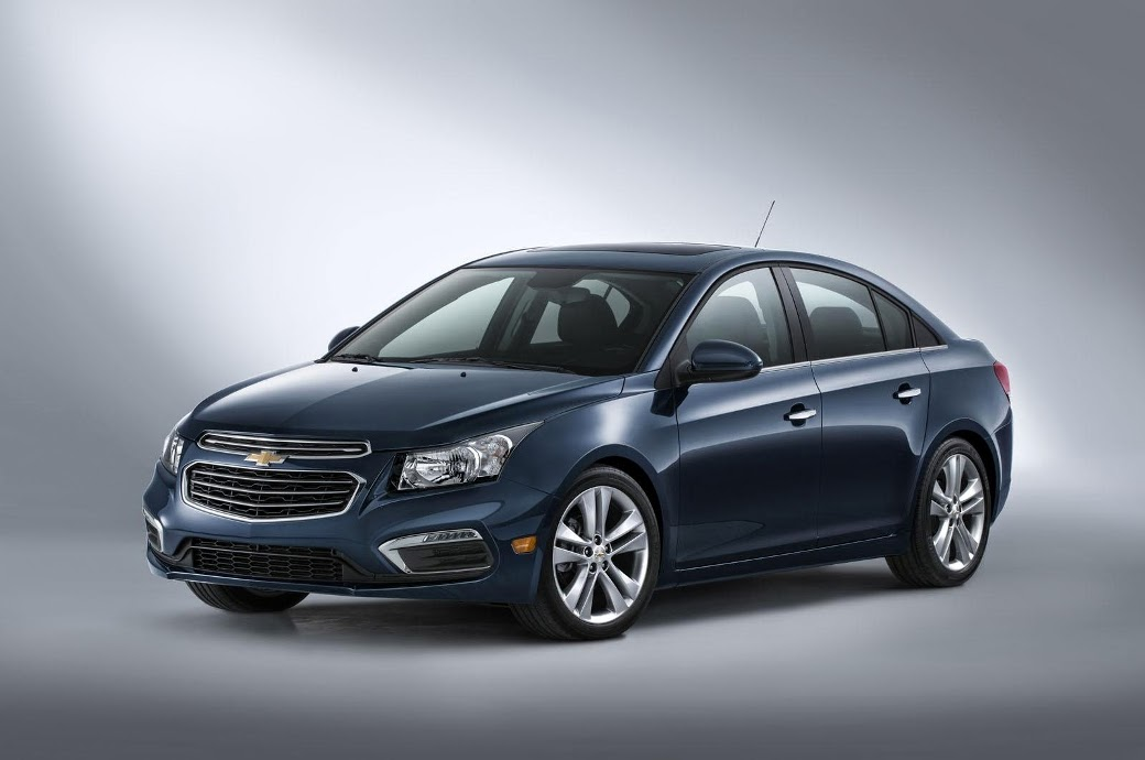 2015 Chevrolet Cruze facelift official photos