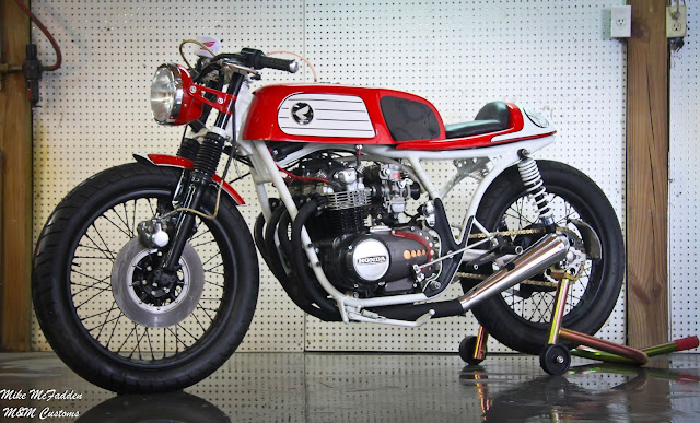 Honda CB550 Cafe Racer | Honda CB550 Cafe Racer Parts | M&M Customs | Custom Honda CB550