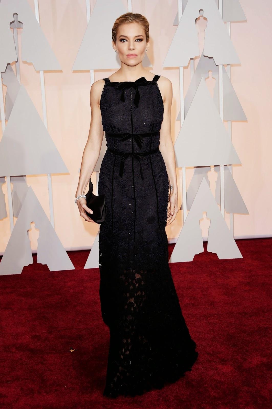 Sienna Miller Academy Awards 2015 Oscars