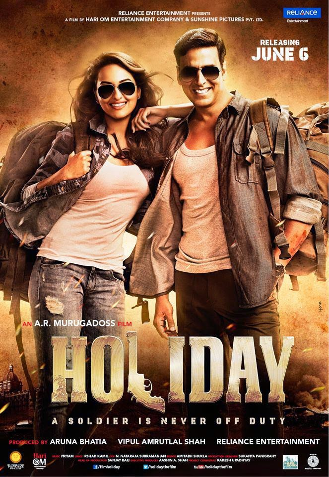 Watch Holiday A Soldier Is Never Off Duty (2014) Non Retail DVDRip Hindi Full Movie Watch Online Free Download