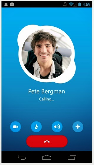 skype android calling