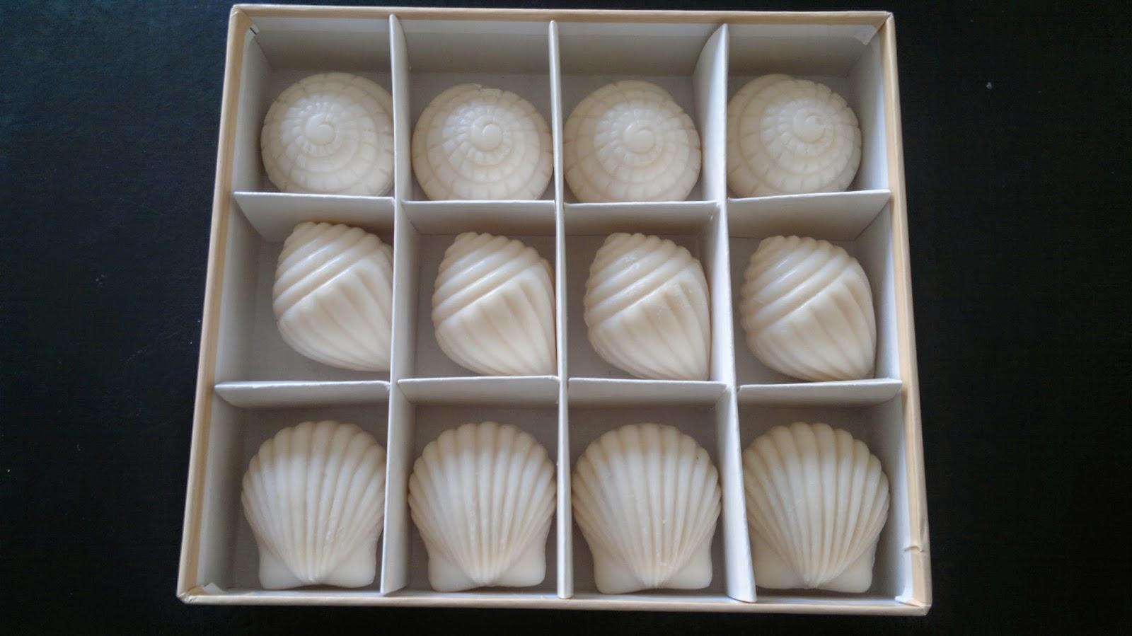 Seashells soap gift set made in italy