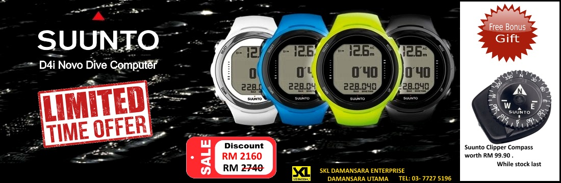 Suunto Dive Watch Christmas & New Year Promotion!!!