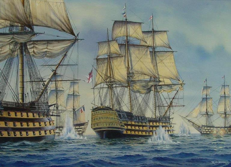 The Life of Arts: 18th century ships