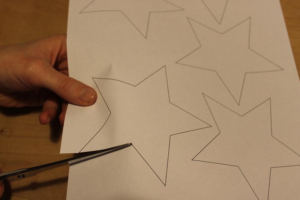 Grimmskram: Schnelle Papiersterne 3D