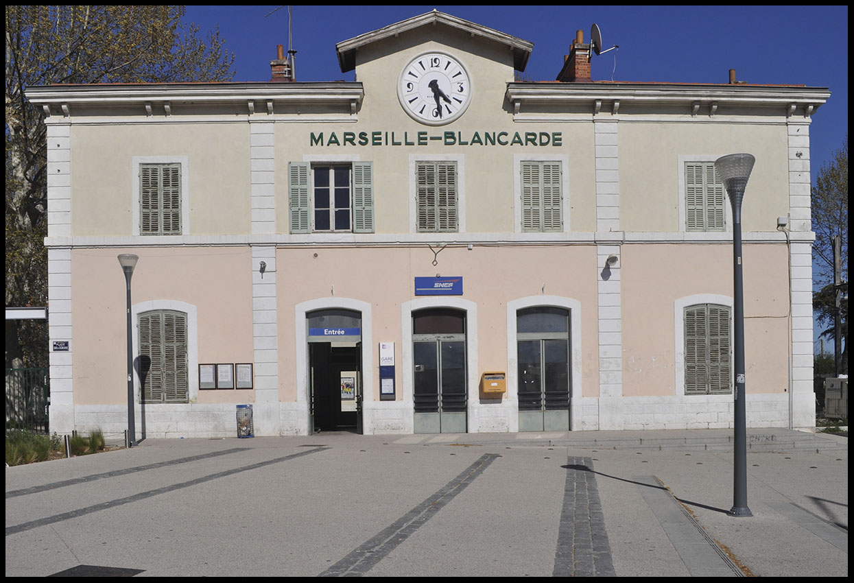 phil beard great railway stations number 8 marseille gare de la blancarde. Black Bedroom Furniture Sets. Home Design Ideas