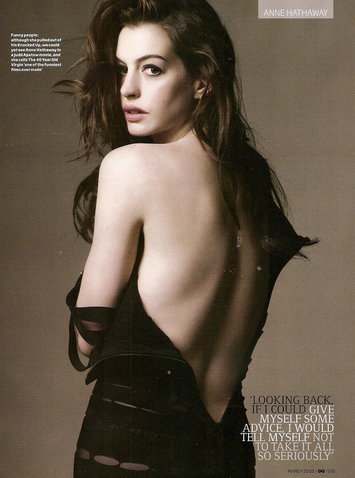 Anne Hathaway Reveals Her