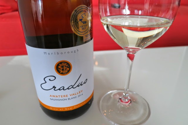 2014 Eradus Sauvignon Blanc from Awatere Valley, Marlborough, South Island, New Zealand (88+ pts)