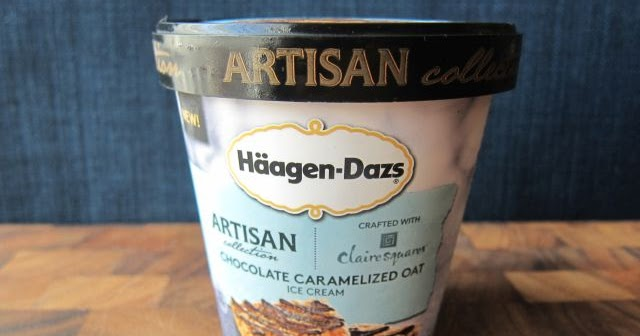 Frozen Friday: Haagen-Dazs Chocolate Caramelized Oat Ice Cream