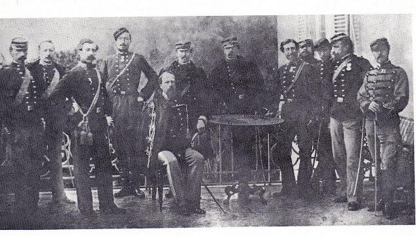 Cialdini ed il suo Stato Maggiore