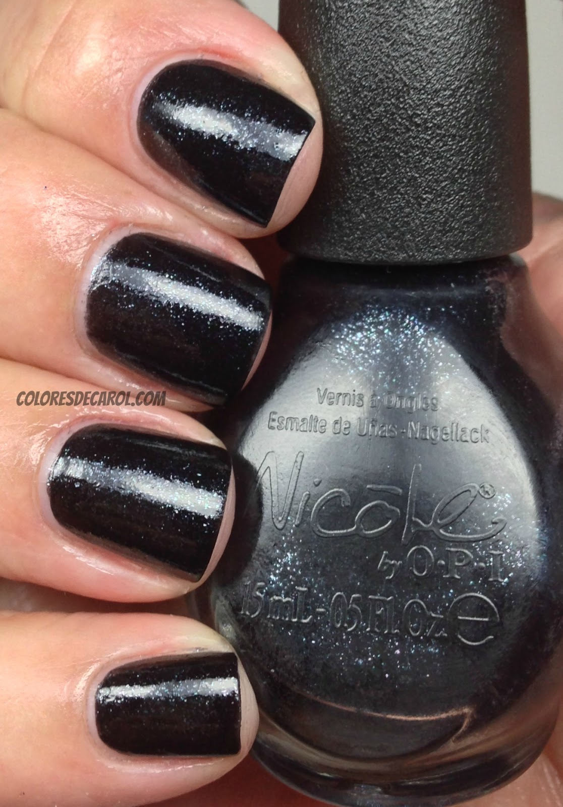 Colores de Carol: Nicole by OPI - Totally In The Dark