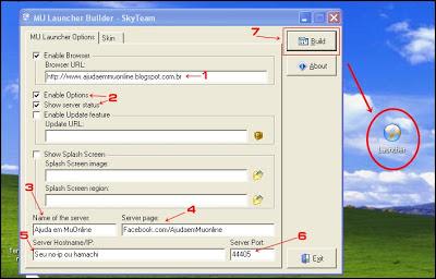 [TUTORIAL] Criando Launcher com o Launcher Builder [Mu Online] Criar+launcher