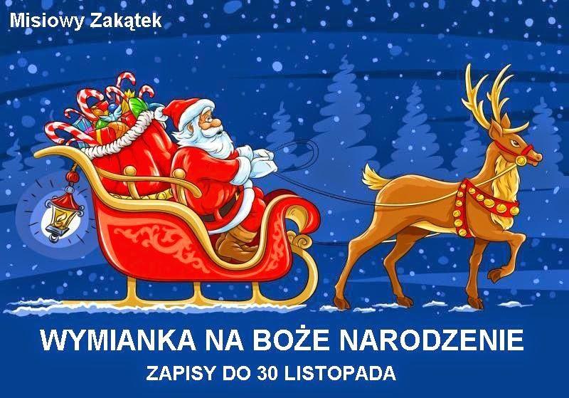 Wymianka na Boże Narodzenie