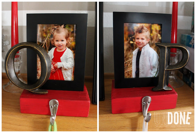 {The Undone Blog} DIY stocking holders and free printable!