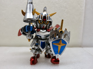 IMG 4115 約瑟夫模型 - SD No.370 LEGEND BB KNIGHT GUNDAM 騎士鋼彈