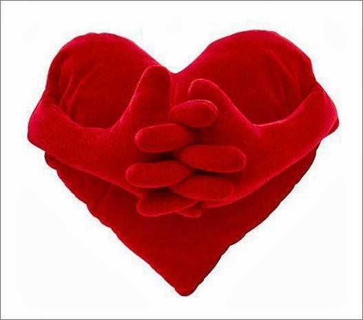 Выкройка для подушки-сердца.  Pattern cushion-heart