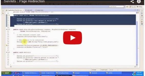 Java ee servlets page redirection for Pool design pattern java