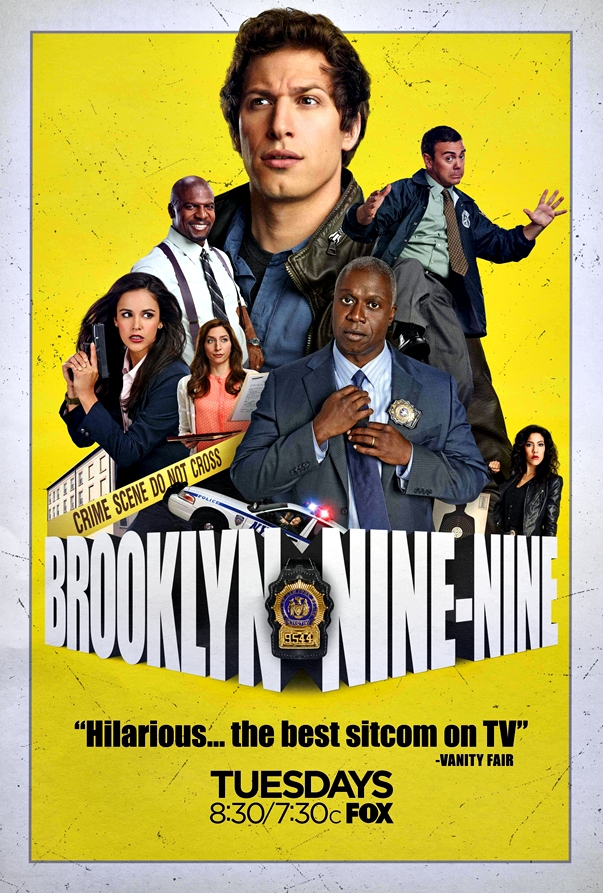 Póster Brooklyn Nine-Nine (Temporada 1)